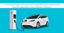 Aktualisierung der Liste mit den energieeffizientesten Elektroautos auf Oekotopten.lu